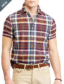 Polo Ralph Lauren Madras Plaid Classic Fit Sport Shirt