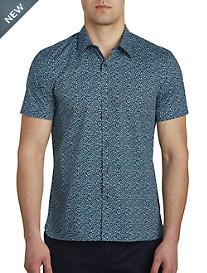 Perry Ellis® Puzzle-Print Stretch Sport Shirt