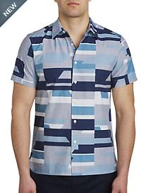 Perry Ellis® Geometric-Print Sport Shirt