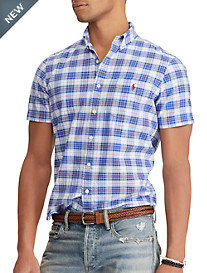 Polo Ralph Lauren Americana Oxford Plaid Classic Fit Sport Shirt