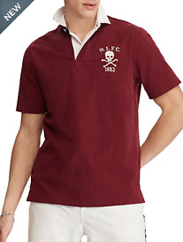Polo Ralph Lauren® Solid Boathouse Skull Polo