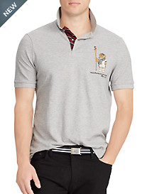 Polo Ralph Lauren Boathouse Bear Mesh Polo