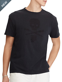Polo Ralph Lauren® Skull And Bones Graphic Tee