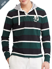 Polo Ralph Lauren Hooded Long-Sleeve Rugby Shirt