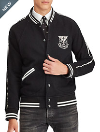 Polo Ralph Lauren New York Fleece Baseball Jacket