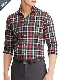 Polo Ralph Lauren Classic Fit Tartan Plaid Sport Shirt