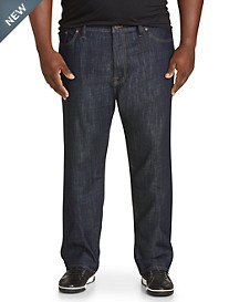 Lucky Brand Relaxed Straight Fit Stretch Jeans