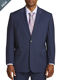 Geoffrey Beene Mini Windowpane Suit Jacket