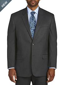 Geoffrey Beene Mini Tonal Check Suit Jacket