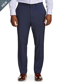 Geoffrey Beene Mini Windowpane Suit Pants