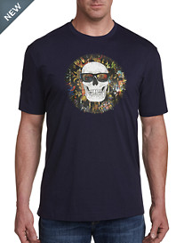 Robert Graham DXL Skull with Sunglasses Graphic Tee