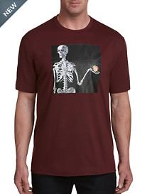 Robert Graham DXL Skeleton Graphic Tee
