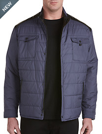 Remy Double-Pocket Nylon Quilted Jacket