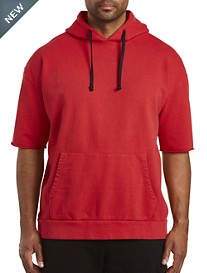 MVP Collections Short-Sleeve Hooded Sweatshirt