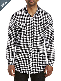 MVP Collections Checkered Sport Shirt