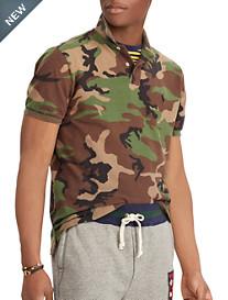 Polo Ralph Lauren Classic-Fit Surplus Camo Mesh Polo Shirt