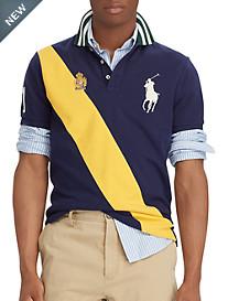 Polo Ralph Lauren Classic-Fit Big Pony Mesh Polo Shirt