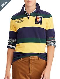 Polo Ralph Lauren Classic Fit Lion Mesh Polo Shirt