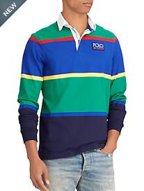 Polo Ralph Lauren Hi-Tech Classic Fit Jersey Rugby Shirt