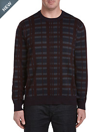 Perry Ellis Pattern Crewneck Sweater