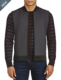Perry Ellis Quilted Vest