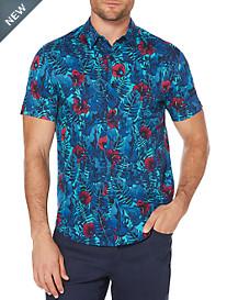 Cubavera Print Sport Shirt