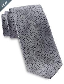 Michael Kors Tie-Dye Abstract Botanical Silk Tie