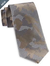 Michael Kors® Camo & Logo Silk Tie