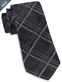 Michael Kors® Tie-Dye Check Silk Tie