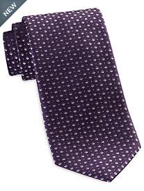 Geoffrey Beene Mini-Diamond Neat Tie