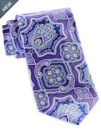 Geoffrey Beene Enchanted Medallion Tie