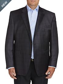 Jack Victor Medium Check Sport Coat - Executive Cut