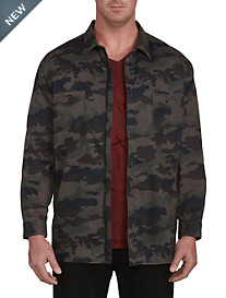 Buffalo David Bitton Soral Camo Sport Shirt