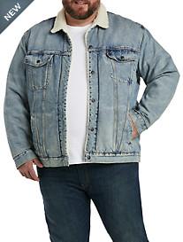 Levi's Faux-Sherpa Trucker Jacket