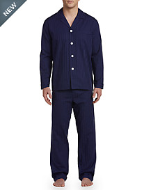 Majestic International® Draper Blues Sateen Stripe Pajamas