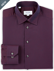 Eton Textured Neat Dress Shirt