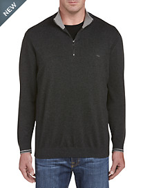 Michael Kors Tipped 1/4-Zip Sweater