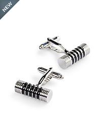 Jan Leslie Cylinder Cuff Links