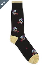 Robert Graham® Skull Socks