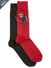 Polo Ralph Lauren 2-pk Ski Bear Socks