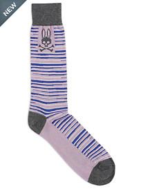 Psycho Bunny Abstract Stripe Socks