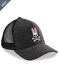 Psycho Bunny Heathered Baseball Cap