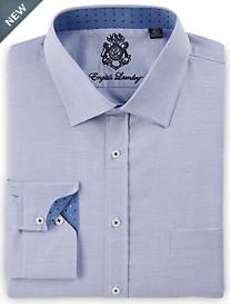 English Laundry Textured Neat Dress Shirt