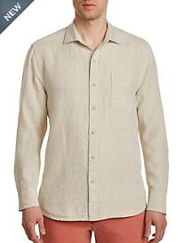 Tommy Bahama® Seaspray Breezer Long-Sleeve Linen Sport Shirt