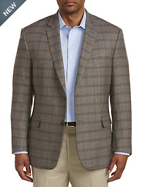 Jean-Paul Germain Deco Windowpane Wool Sport Coat