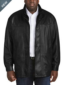 Remy 3/4-Length Leather Jacket