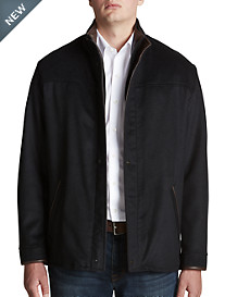 Remy Leather Trim Jacket