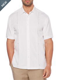 Cubavera® Double-Tuck Panel Sport Shirt
