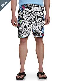 Tommy Bahama® Baja Luau Leaves Swim Trunks