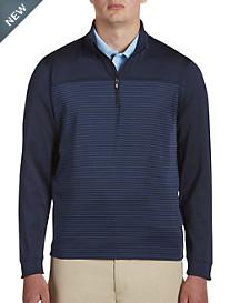 Cutter & Buck Traverse Stripe 1/2-Zip Pullover